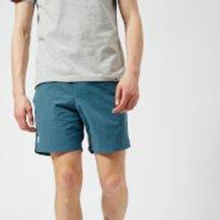 Pretty Green Mens Logo Swim Shorts - Blue - M - Blue