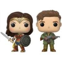 Marvel Steve Trevor & Wonder Woman EXC Pop! Vinyl Figure 2-Pack - Wonder Woman Gifts
