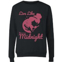 Disney Princess Midnight Womens Sweatshirt - Black - L - Black