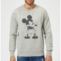 Disney Mickey Mouse Angry Sweatshirt - Grey - XL - Grey