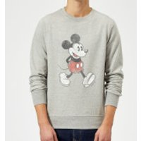Disney Mickey Mouse Walking Sweatshirt - Grey - XXL - Grey - Walking Gifts