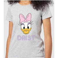 Disney Mickey Mouse Daisy Face Women's T-Shirt - Grey - 5XL - Grey