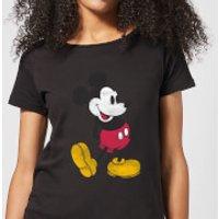 Disney Mickey Mouse Classic Kick Women's T-Shirt - Black - XL - Black