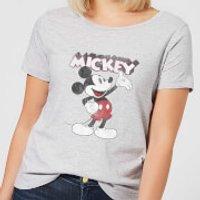 Disney Mickey Mouse Presents Women's T-Shirt - Grey - 5XL - Grey - Presents Gifts