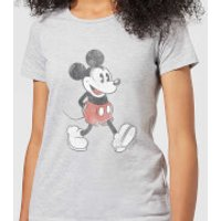 Disney Mickey Mouse Walking Women's T-Shirt - Grey - XS - Grey - Walking Gifts