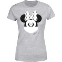Disney Mickey Mouse Minnie Mouse Mirror Ilusion Women's T-Shirt - Grey - XXL - Grey - Minnie Mouse Gifts