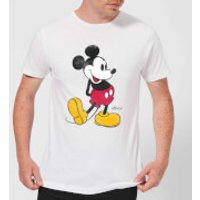Disney Mickey Mouse Classic Kick T-Shirt - White - S - White