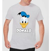 Disney Mickey Mouse Donald Face T-Shirt - Grey - XL - Grey - Mickey Mouse Gifts