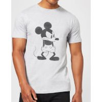 Disney Mickey Mouse Angry T-Shirt - Grey - XL - Grey - Mickey Mouse Gifts