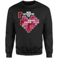 You Complete Me Sweatshirt - Black - S - Black