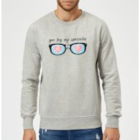You Fog My Spectacles Sweatshirt - Grey - XL - Grey