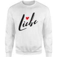 Liebe Sweatshirt - White - M - White
