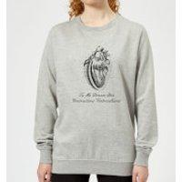 Premature Ventricular Contractions (FR) Women's Sweatshirt - Grey - 3XL - Grey