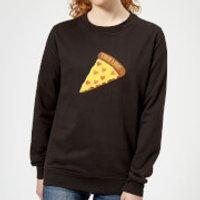 True Love Pizza Women's Sweatshirt - Black - S - Black