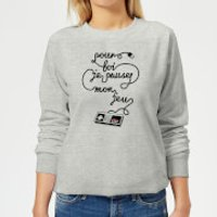 I'd Pause My Game For You (FR) Women's Sweatshirt - Grey - L - Grey