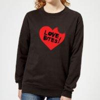 Love Bites Women's Sweatshirt - Black - L - Black