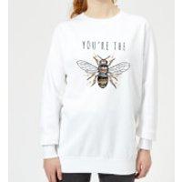 You're The Bees Knees Women's Sweatshirt - White - S - White