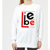 Liebe Block Women's Sweatshirt - White - XL - White