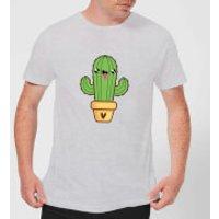 Image of Cactus Love T-Shirt - Grey - XL - Grey