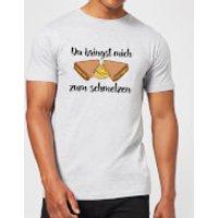 Zum Schmelzen T-Shirt - Grey - 5XL - Grey