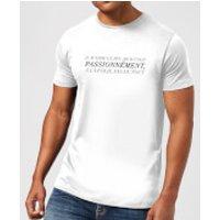 Image of Passionnément T-Shirt - White - XXL - White