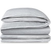 Calvin Klein Modern Cotton Duvet Cover - Rhythm Grey - Single - Grey