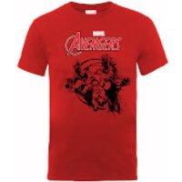Camiseta Marvel Los Vengadores  Equipo  -