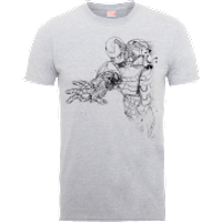 Camiseta Marvel Los Vengadores Boceto Iron
