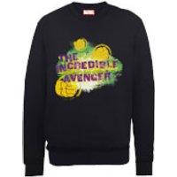 Marvel Avengers Hulk The Incredible Avenger Sweatshirt - Black - L - Black