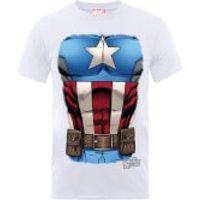 Camiseta Marvel Los Vengadores  Torso Capitán