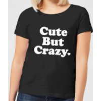 Cute But Crazy Women's T-Shirt - Black - L - Black