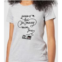 I'd Pause My Game For You (FR) Women's T-Shirt - Grey - L - Grey