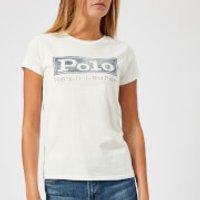 Polo-Ralph-Lauren-Womens-Logo-TShirt-Nevis-M-White