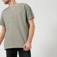 Edwin Men's Short Sleeve Sweatshirt - Mouline Grey - M - Grey