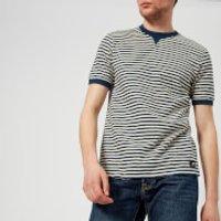 Edwin Men's International T-Shirt - Natural/Navy - XL - Navy