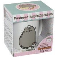 bakedin Pusheen Chocolate Brownie Mug Gift Set