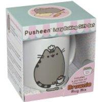 bakedin Pusheen Chocolate Brownie Mug Gift Set