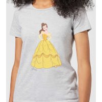 Disney Beauty And The Beast Princess Belle Classic Women's T-Shirt - Grey - XL - Grey - Beauty And The Beast Gifts