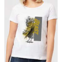 Disney Beauty And The Beast Rage Women's T-Shirt - White - XL - White - Beauty And The Beast Gifts