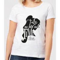 Disney Beauty And The Beast Princess Belle Tale As Old As Time Women's T-Shirt - White - S - White