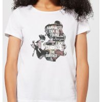 Disney Beauty And The Beast Happiness Women's T-Shirt - White - S - White