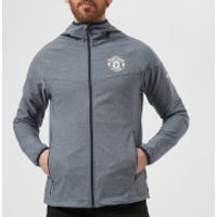 Columbia Mens Manchester United Heather Canyon Jacket - Collegiate Navy - M - Blue