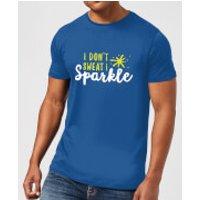 I Don't Sweat I Sparkle T-Shirt - Royal Blue - XXL - Royal Blue
