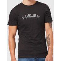 Heartbeat Books T-Shirt - Black - M - Black - Books Gifts