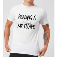Reading Is My Escape T-Shirt - White - M - White - Reading Gifts