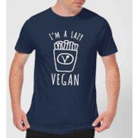 Lazy Vegan T-Shirt - Navy - XXL - Navy