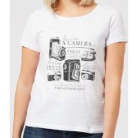 Life Is Like A Camera Women's T-Shirt - White - XXL - White - Camera Gifts