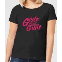 Girls Just Wanna Have Guns Women's T-Shirt - Black - XXL - Black - Guns Gifts