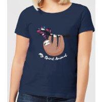 My Spirit Animal Women's T-Shirt - Navy - M - Navy