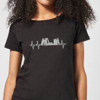 Heartbeat Books Women's T-Shirt - Black - XL - Black - Books Gifts